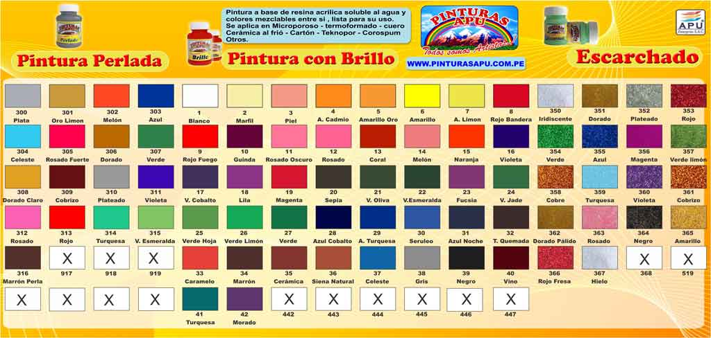 Catalogo pinturas apu catalogo 2015 todos somos artistas for Catalogo colores pintura pared